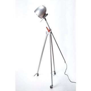 1980s Post Modern Articulating Floor Lamps on Casters - a Pair Preview