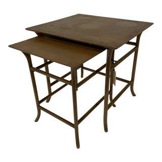 Mid-Century Modern Robsjohn Gibbings Nesting Tables - Set of 2 For Sale