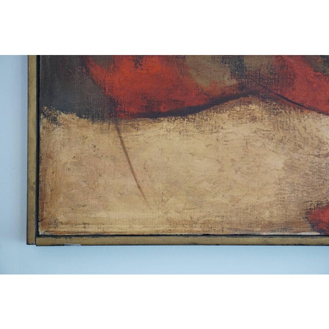 1960s 1960s Oil Painting by Darwin Musselman For Sale - Image 5 of 6