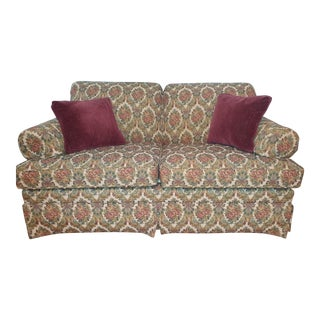 1990s Vintage Ethan Allen Love Seat For Sale