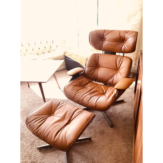 1975 Frank Doerner Mid-Century Modern Eames Style Chair For Sale - Image 10 of 10