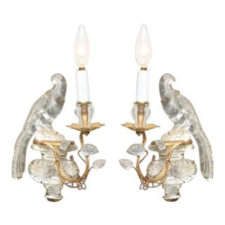 Pair of Maison Baguès Sconces For Sale