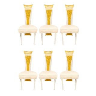 Lucite Dining Chairs Mid-Century Modern - Set of 6 For Sale