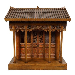 19th Century Antique Chinese Altar/Buddha House/Shrine For Sale