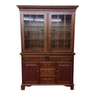 Vintage Pennsylvania House China Cabinet For Sale