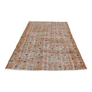 "Turkish Oushak Tribal Floor Rug - 5'2"" x 7'10"""