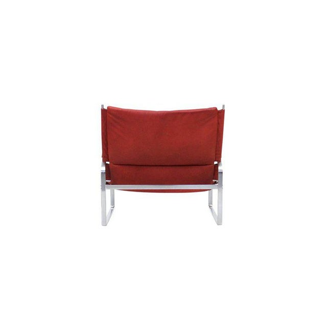 Preben Fabricius and Jorgen Kastholm Lounge Chair and Ottoman For Sale In Boston - Image 6 of 11