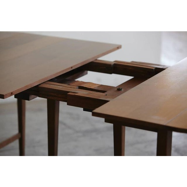 1950s Extendable Drop-Leaf Maple Dining Table by Paul McCobb for Planner Group For Sale - Image 5 of 10