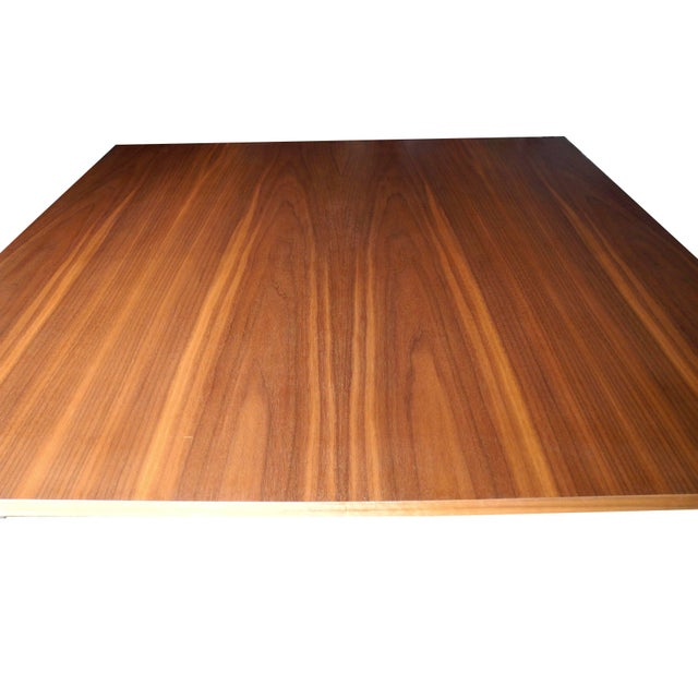 Mid 20th Century George Nelson for Herman Miller Modern Walnut Square Dining Table For Sale - Image 5 of 8