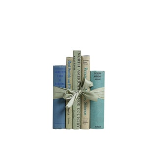 Vintage Book Gift Set: Fishing Cabin, S/5
