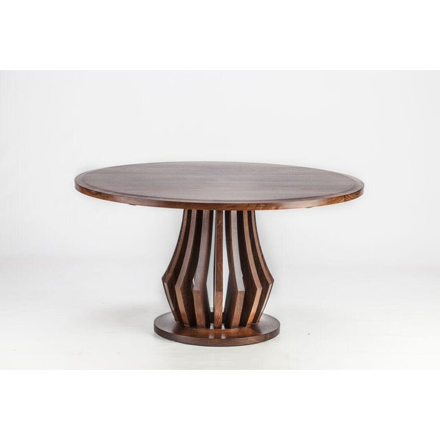 American Black Walnut Center Table - Image 6 of 6