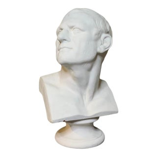 Antique Classical Bust of Demosthenes For Sale