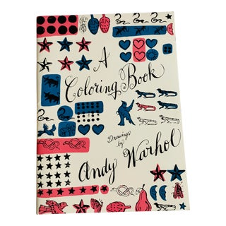 Pop Art Andy Warhol Coloring Book For Sale