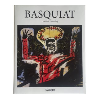 """ Basquiat the Explosive Force of the Streets "" Neo Expressionist Pop Art Hardcover Book"