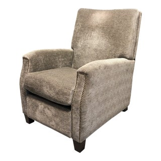 Kravet Fabric Westwood Club Lounge Recliner For Sale