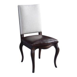 Cabriole Leg Carrollton Side Dining Chair For Sale