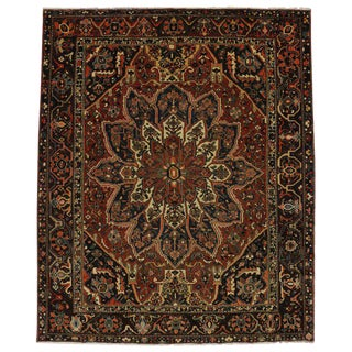 20th Century Persian Bakhtiari Rug - 11′ × 13′2″ For Sale