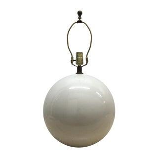 Globe Lamp in the Manner of Karl Springer