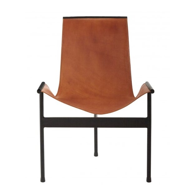 Leather Sling 3 Leg Zaha Chair For Sale