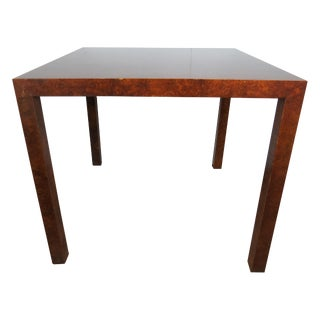 Mid-Century Modern Milo Baughman for Directional Parsons Style Dining Table For Sale