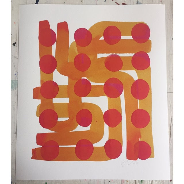 Kate Roebuck Polkadot Maze One Print - Image 2 of 2