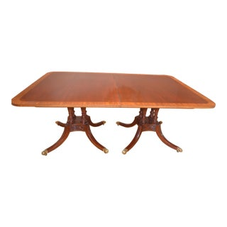 Vintage Baker Historic Charleston Collection Dining Table For Sale