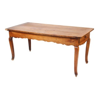 Louis XV Style Provincial Dining Room Table For Sale