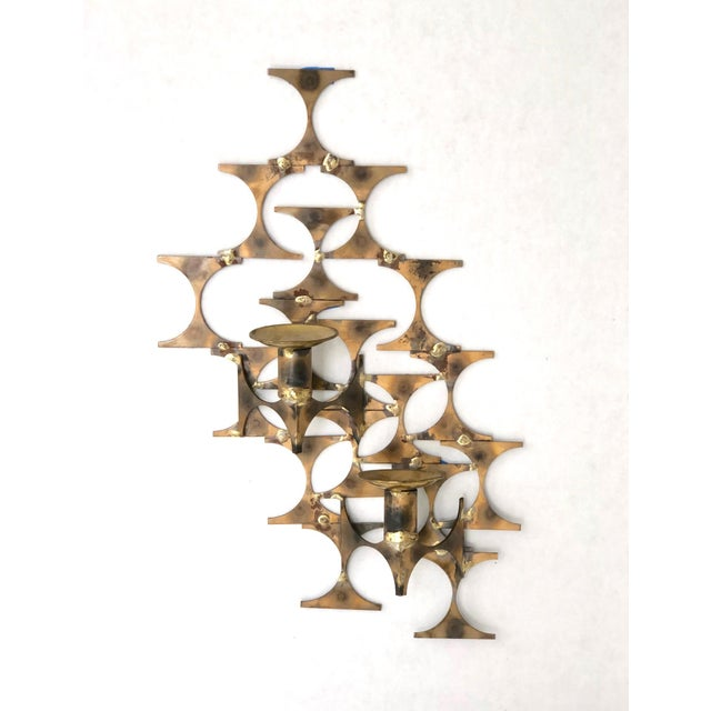 Modern Wall Sconce Sculpture by Mark Weinstein For Sale - Image 12 of 12