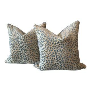 "Cowtan and Tout ""Ocelot"" Pillows - A Pair"