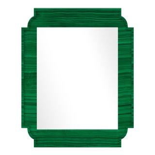 Fleur Home x Chairish Camp Mirror in Malachite, 24x36 For Sale