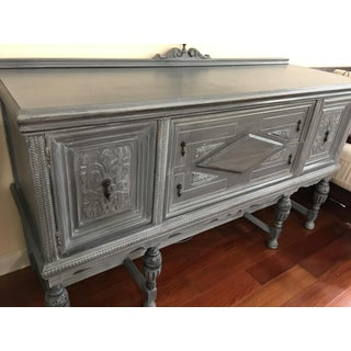 Vintage Hand-Painted Distressed Sideboard Preview