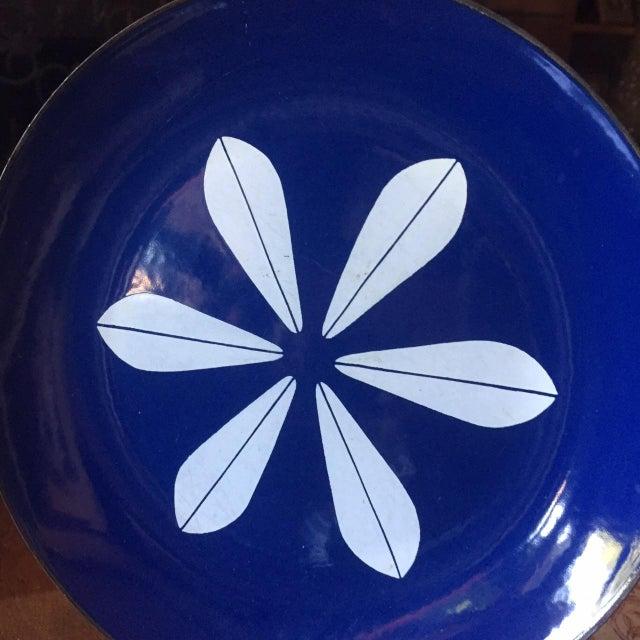 Catheineholm Blue Lotus Plates - Pair - Image 3 of 8