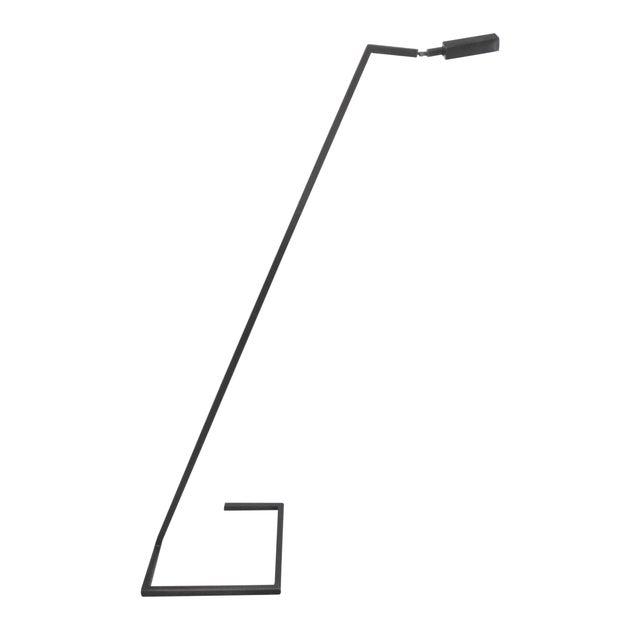 Architectural Steel/Bronze Sketch Floor Lamp - Image 1 of 6
