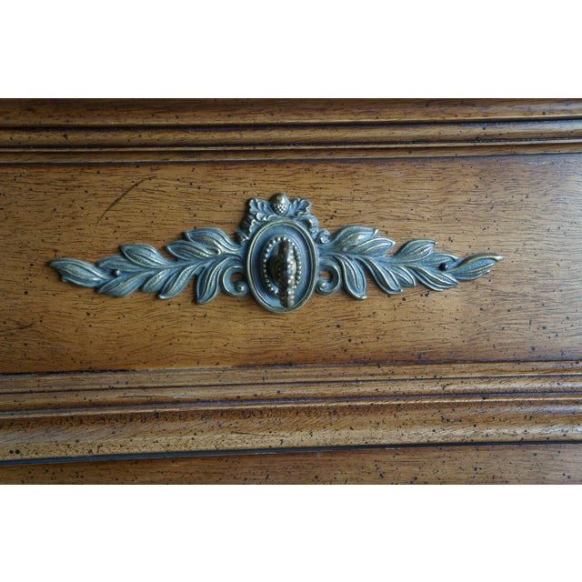 French Provincial 20th Century French Provincial Henredon Dresser For Sale - Image 3 of 12