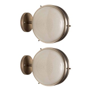 1962 Artemide Sconces by Sergio Mazza - a Pair For Sale