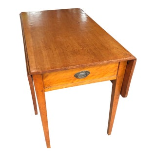 Country Hepplewhite Drop Leaf Table
