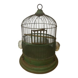 Hendryx Green Bird Cage For Sale