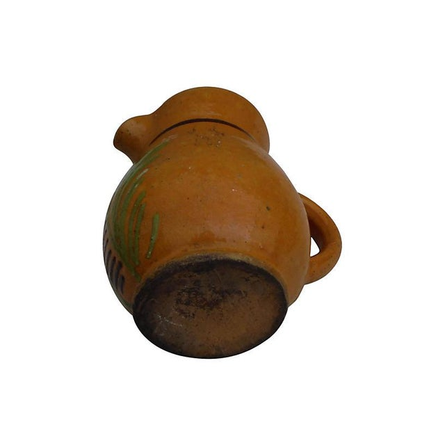 French French Pottery Pitcher For Sale - Image 3 of 3