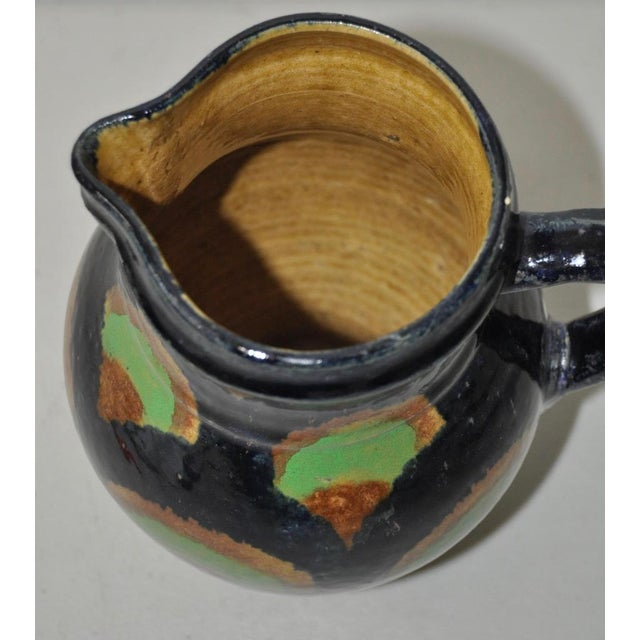 19th Century German Stoneware Hand Made Pitcher - Image 5 of 7