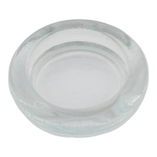 1960s Industrial Glass Catchall For Sale