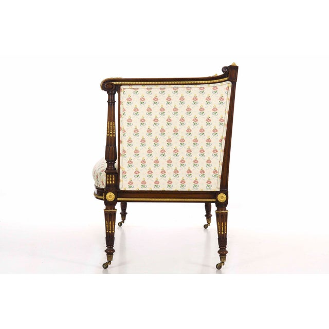 Late 19th Century French Louis XVI Style Antique Canapé Sofa Settee Circa Late 19th Century For Sale - Image 5 of 13