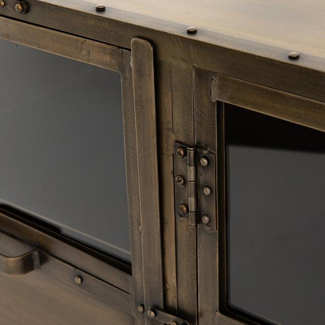 Industrial Erdos + Ko Ellen Media Console For Sale In Austin - Image 6 of 8