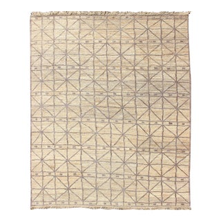 Modern Design Sumack-Flat-Weave Rug in Jute Material in Wheat/ Light Caramel For Sale