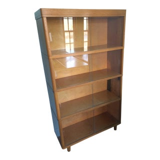 1960s Mid-Century Style Danish Oak Barrister Stacking Bookcase
