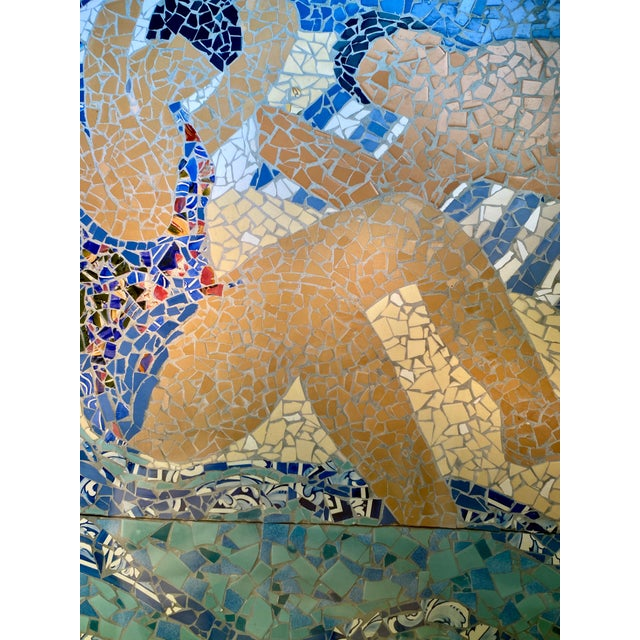 "This is a 48""Wide x 60"" High Original Art Mosaic #4 Created for Tiffany & Company Windows New York City in 1987 by artist..."