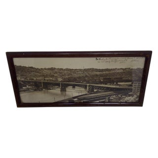 Vintage Pittsburgh Photograph, Circa 1928 For Sale