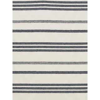 Sample, Scalamandre Marina Stripe Orage Fabric For Sale