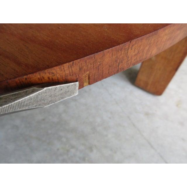 Wood 1950's Mid-Century Modern Robsjohn-Gibbings for Widdicomb Side Table For Sale - Image 7 of 11
