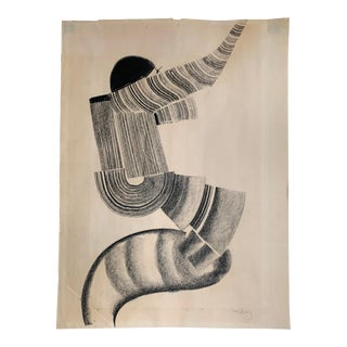 1970s Karl May Figural Drawing For Sale