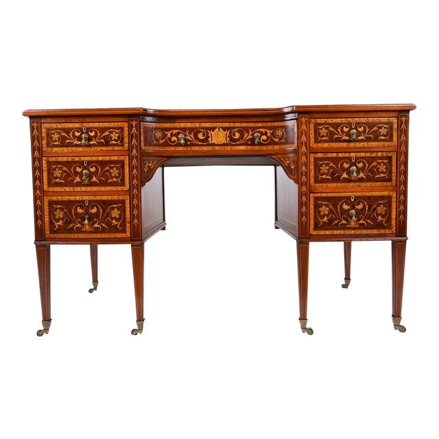 Antique Edwards & Roberts English-Style Desk - Image 1 of 11
